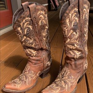 Lucchesse ladies cowboy boots